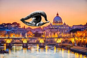 vista consapevole a Roma